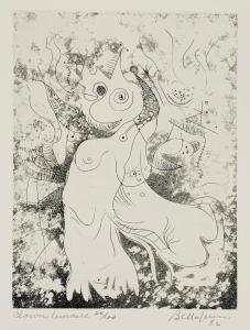 Clown lunaire, 1982