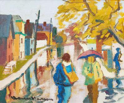 Autumn Rain, Hull