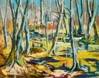 Fall Landscape by Henri Masson