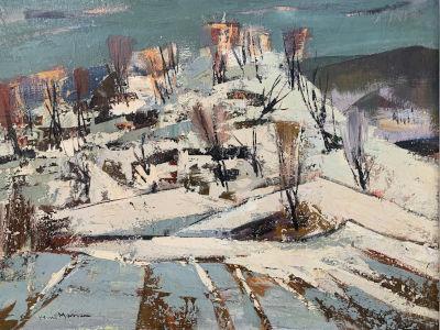 Untitled (Winter landscape)