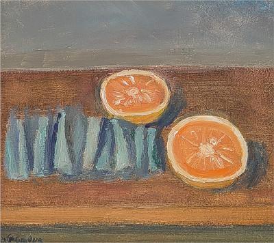 Nature-morte aux oranges