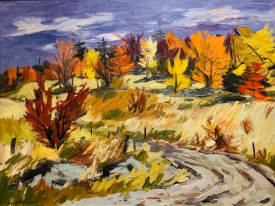 Henri Masson Fall Landscape