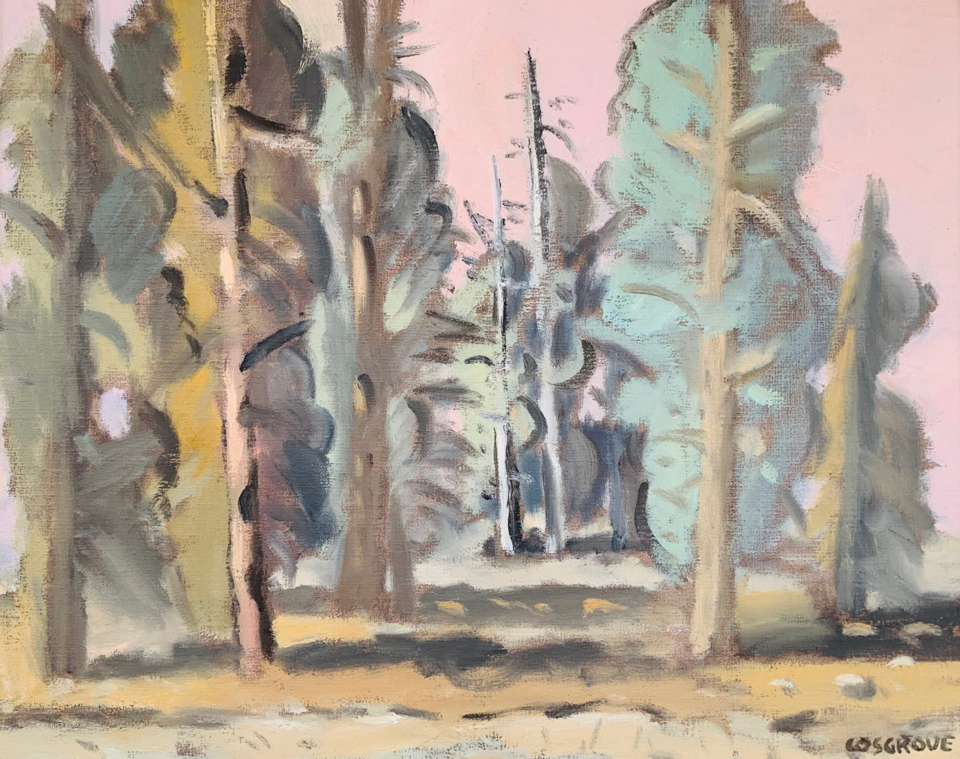 Forest by Stanley Cosgrove