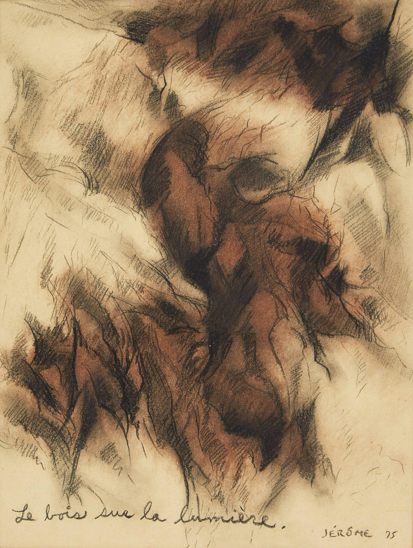 Le bois sur la lumiere by Jean-Paul Jerome