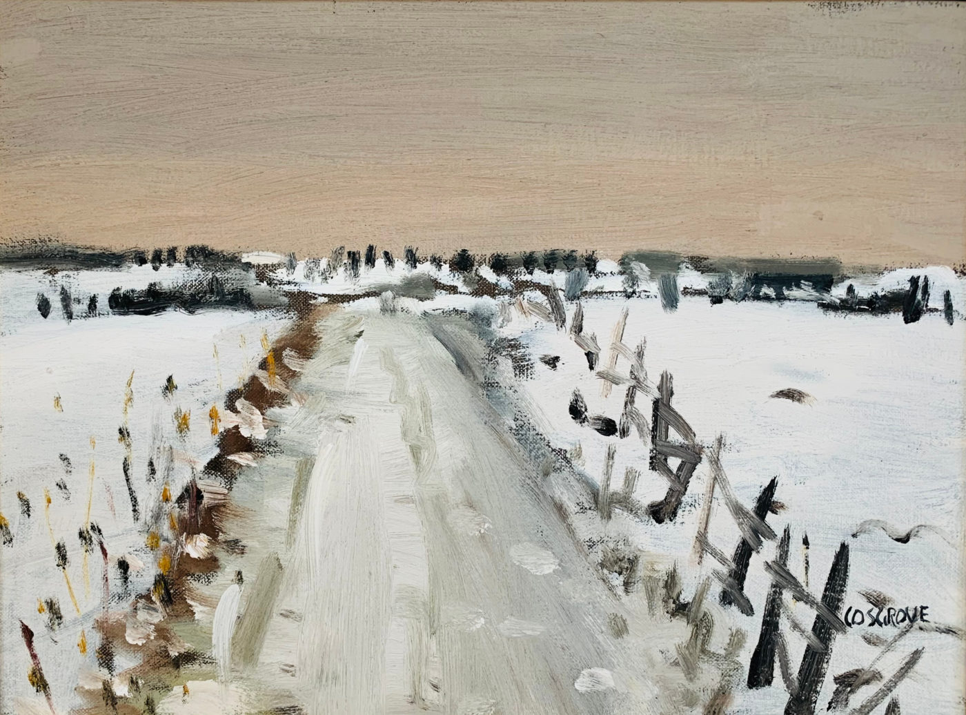 Winter Landscape by Stanley Cosgrove